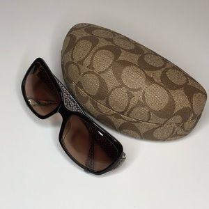 Coach Sunglasses Plus case